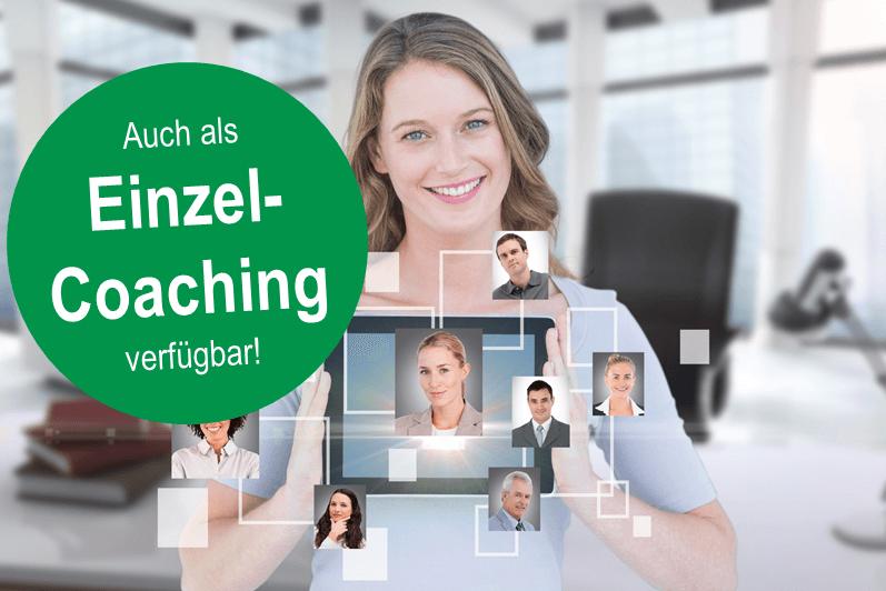 Virtuelle Führung Einzelcoaching
