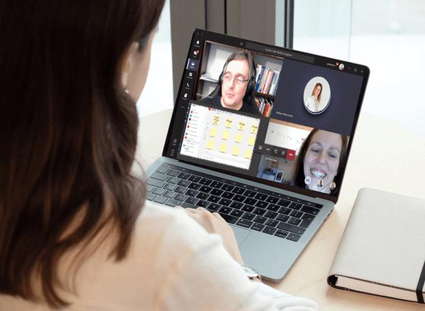 Virtuelles Meeting mit MS Teams