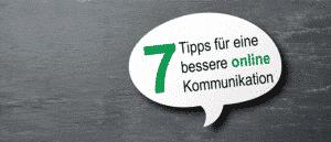 Sprechblase 7 Tipps