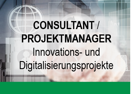"""Button mit Text """"Consultant / Projektmanager"""""""