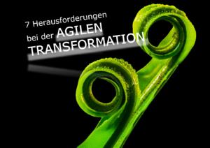 7 Herausforderungen bei der agilen Transformation